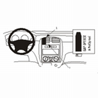 Brodit center mount v. Mazda Premacy 00-03