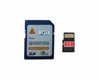 SD kaart 8 Gb voorbereid voor S6400 Ventura